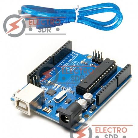 Placa UNO R3 con cable USB