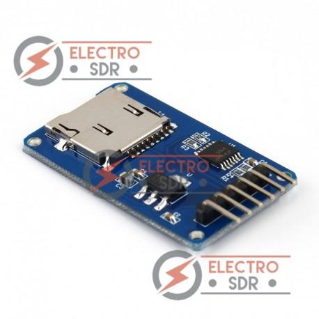 Módulo adaptador microSD para Arduino