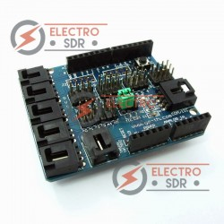 Arduino Sensor Shield V4  para Arduino UNO, MEGA, Duemilanove, I2C o UART