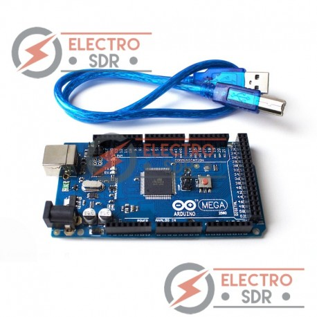 Placa MEGA 2560 R3 + cable USB 1 año garantía