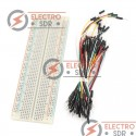 Breadboard MB-102 + 65 Jumper Wires
