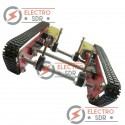 Chasis Tanque DD1-1 con ruedas de oruga para robotica, arduino,