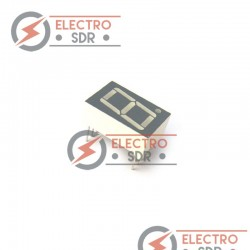 Display Led 7 segmentos 1 digito 57mm - Arduino y prototipos