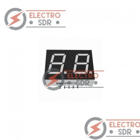 Display Led 7 segmentos 2 digito 57mm - Arduino y prototipos