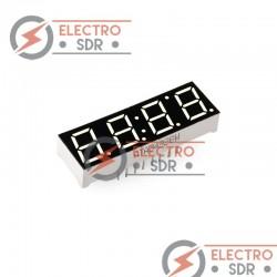 Display Led 7 segmentos 4 digito CON RELOJ - Arduino y prototipos