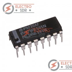 74HC595N 8 Bit Shift Register IC DIP-16 PIN TEXAS Circuito Integrado