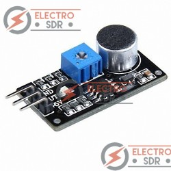 Detector de sonido Chip LM393 Módulo Micrófono para Arduino