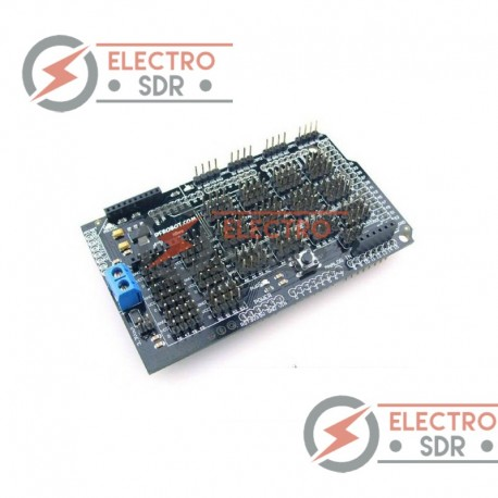 MEGA Sensor Shield para Arduino MEGA y compatibles