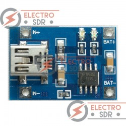 Módulo cargador baterias de Litio TP4056/ miniUSB Charger/ Li-Ion-LiPo