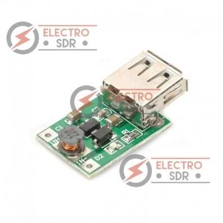 Módulo incremento de voltaje de 1-5v DC a 5v DC / 5V Boost Pressure Module Arduino uno mega