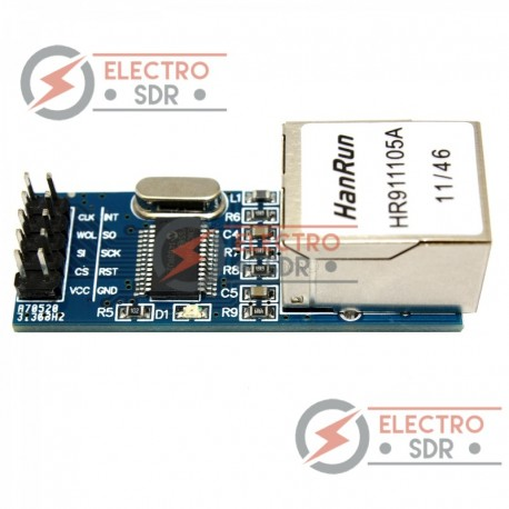 Módulo Mini Ethernet ENC28J60 LAN Network compatible Arduino uno, mega
