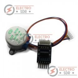 Motor PAP 28BYJ-48 + Driver ULN2003 compatible con arduino / raspberry pi