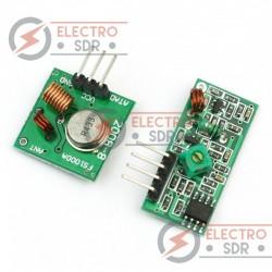 Kit Emisor y Receptor RF 433 Mhz para Arduino y compatibles
