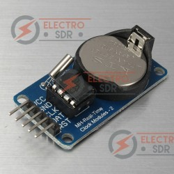 Módulo RTC DS1302 compatible con Arduino, Raspberry Pi, AVR