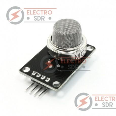 Módulo sensor de gas MQ-2 para Arduino y placas compatibles