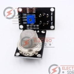 Módulo sensor de gas MQ-5 para Arduino y placas compatibles