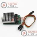 Matriz LED 8x8 con MAX7219 para Arduino, Pic, Raspberry