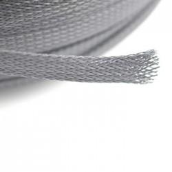 Malla Recoge-Cables Negra 10 mm (1 metro)