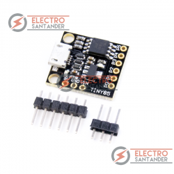 ATTINY85 microUSB development board