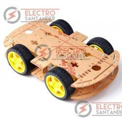Chasis robot 4WD - Chasis para robot