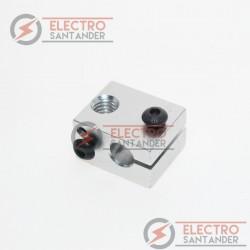 Bloque calefactor para hotend v5 o v6 - Rosca M6